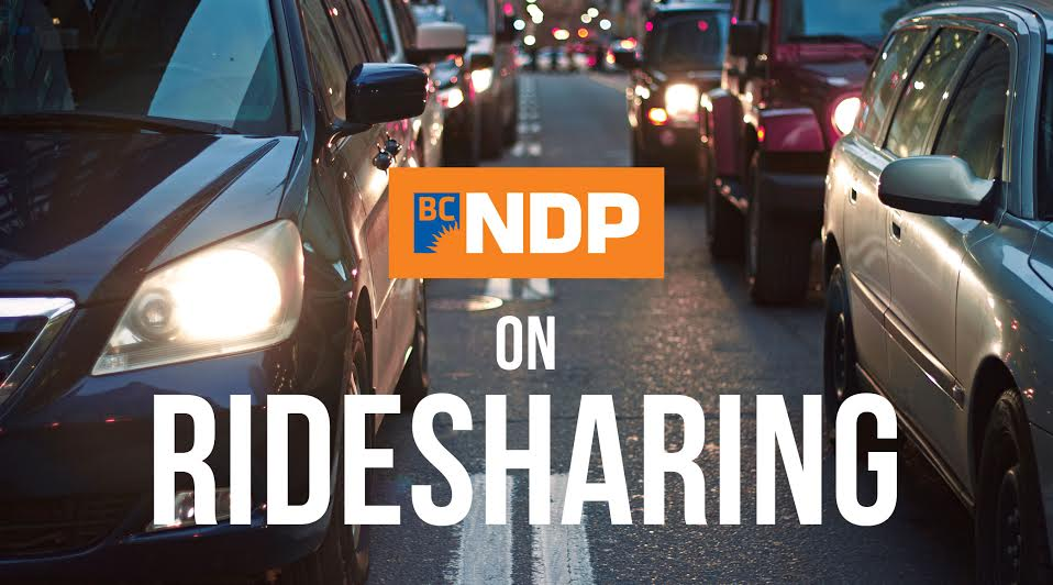 BC Election 2017: BC NDP and rideshare in detail