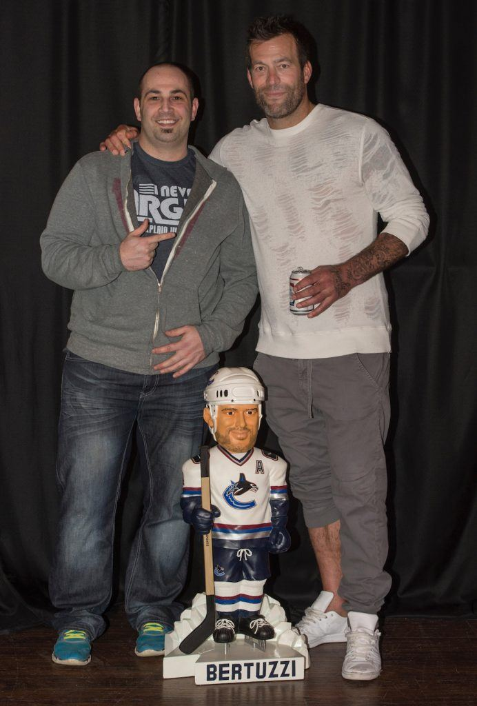 Canucks fan finds Bertuzzi in Saskatchewan, fulfills ...