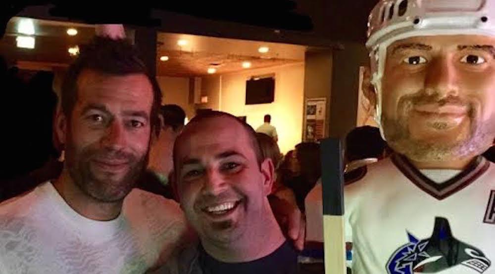 Canucks fan finds Bertuzzi in Saskatchewan, fulfills impossible dream (PHOTOS)