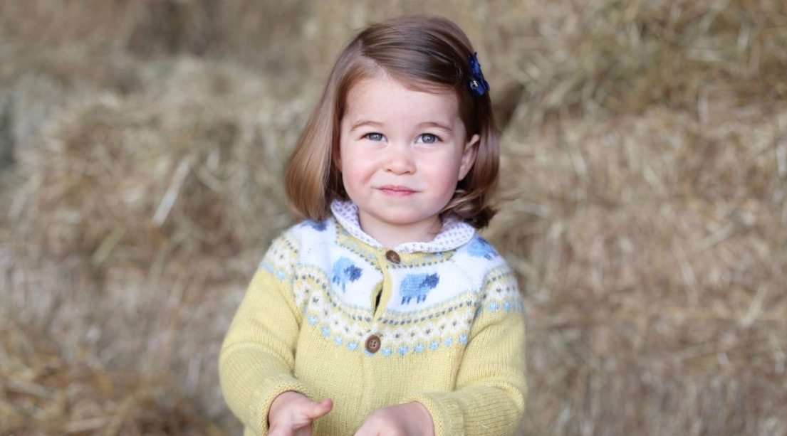 Kensington Palace releases rare photo of Princess Charlotte on eve of her 2nd birthday