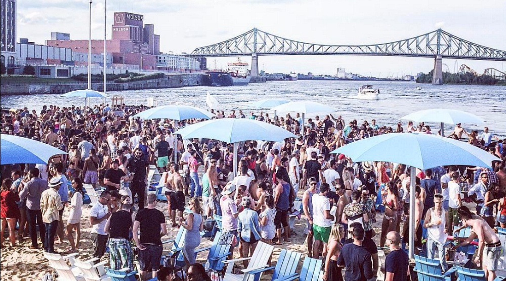 Clock Tower Beach is returning to Montreal this summer
