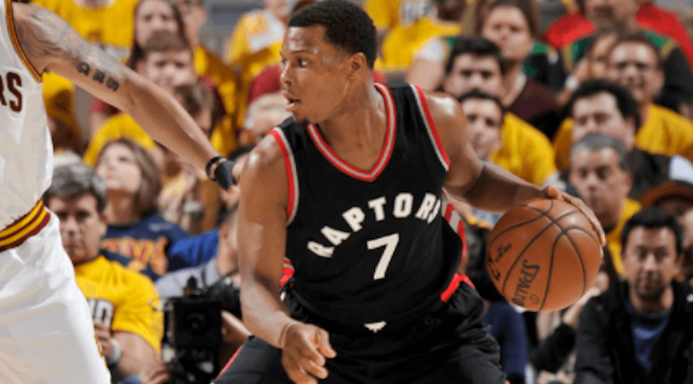 Lowry suffers ankle injury, Raptors lose Game 2 to Cavs