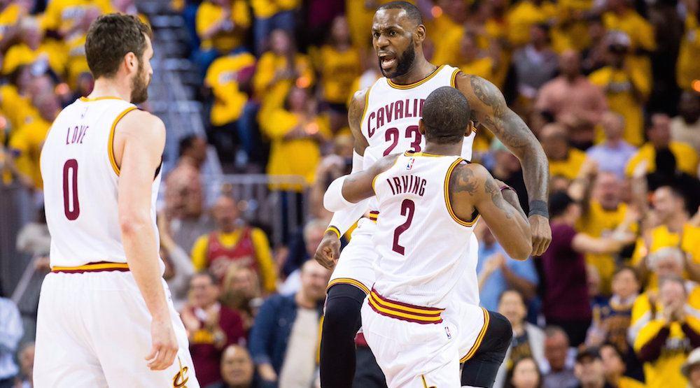 LeBron, Cavs dominate Raptors in Game 1