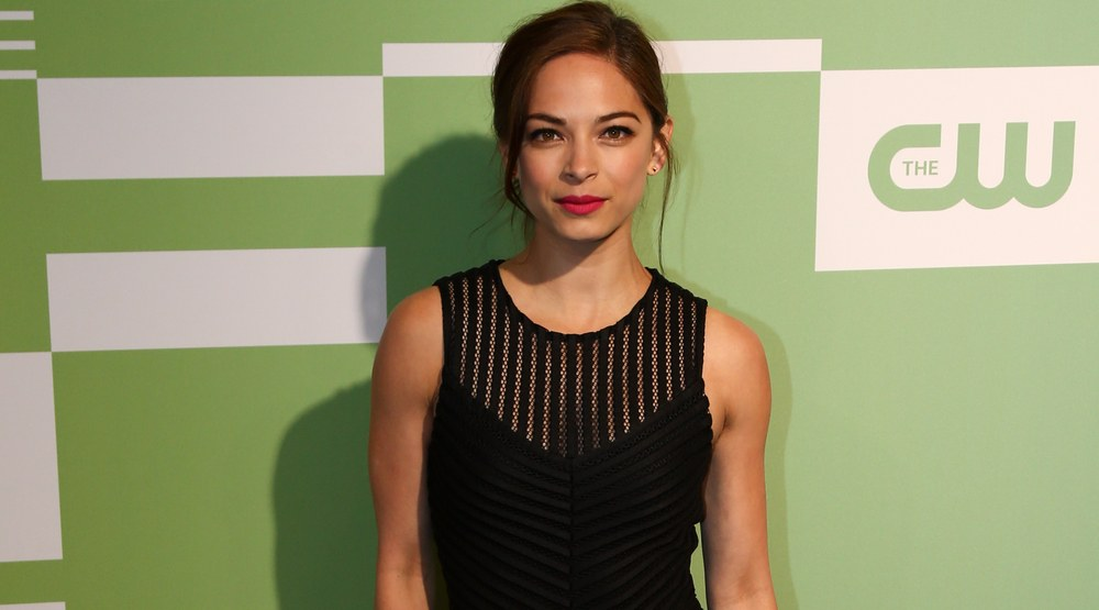 Actress Kristin Kreuk attends the 2015 CW Network Upfront Presentation at the London Hotel on May 14, 2015 in New York City.