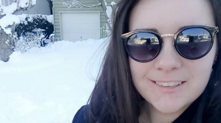Young voter Katherine Fredette (Katherine Fredette)