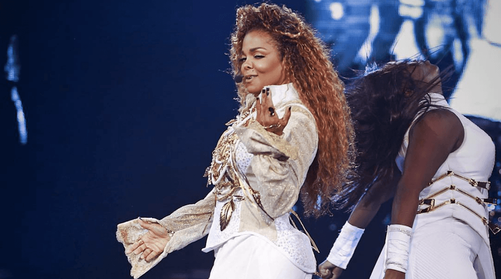 Janet Jackson Toronto 2017 concert at Air Canada Centre