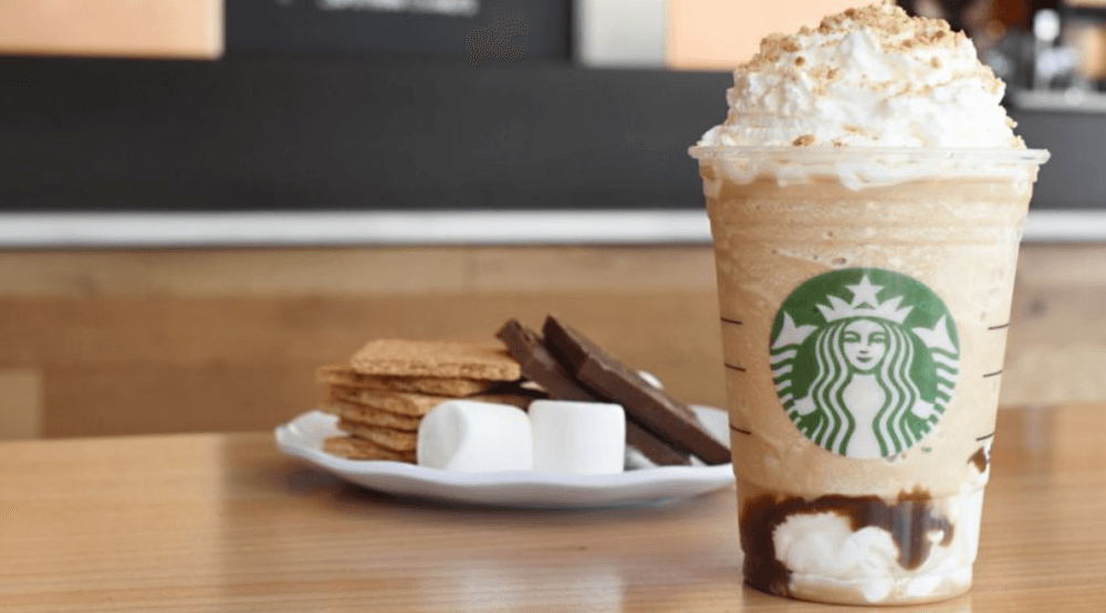 Starbucks just relaunched its S'mores Frappuccino