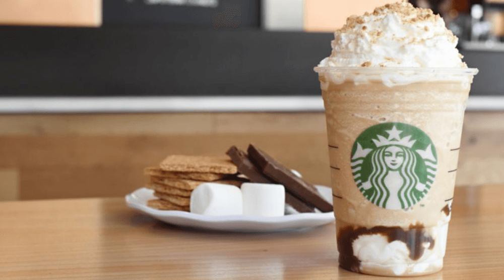 Starbucks smores