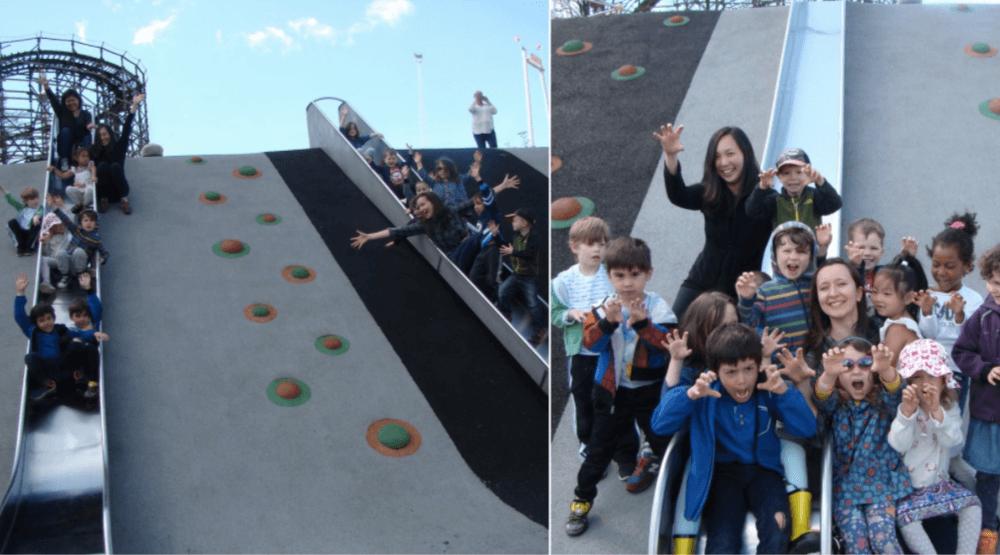 Vancouver Park Board renames children's park to 'Slidey Slides'