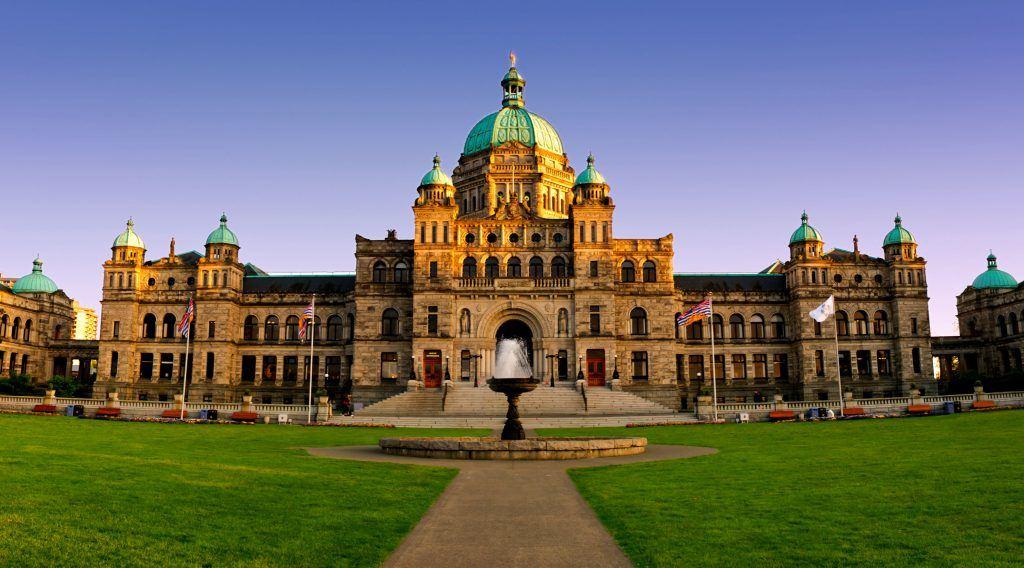 The BC Legislature in Victoria (BGSmith/Shutterstock)