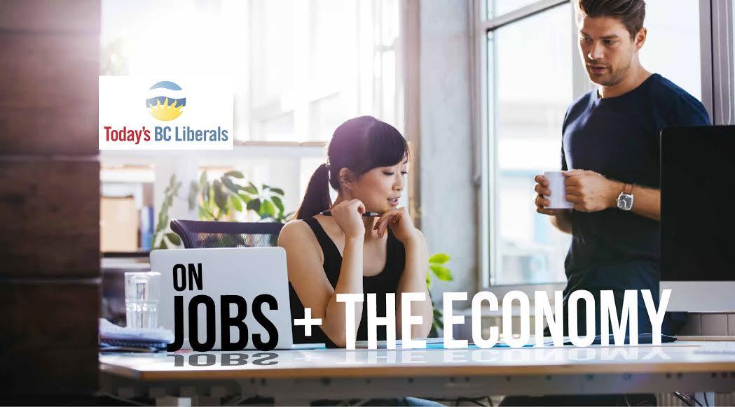 Bc liberals jobs economy