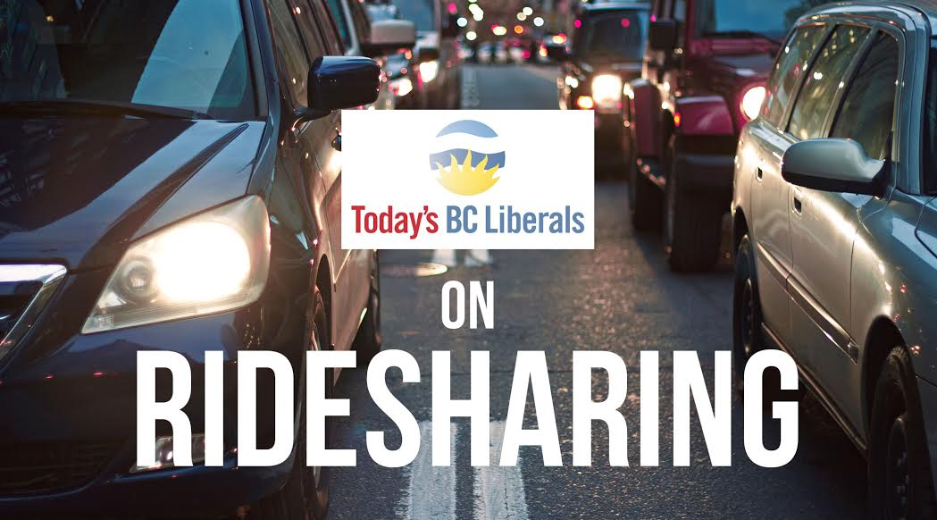 Bc liberals rideshare