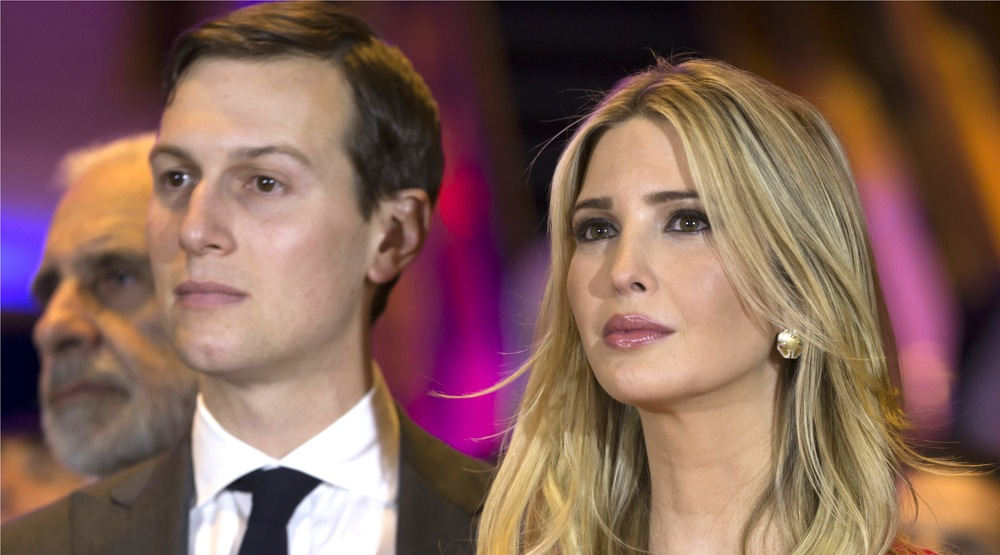 Jared kushner and ivanka trump husband and wife at trump tower in 2016 lev radinshutterstock1