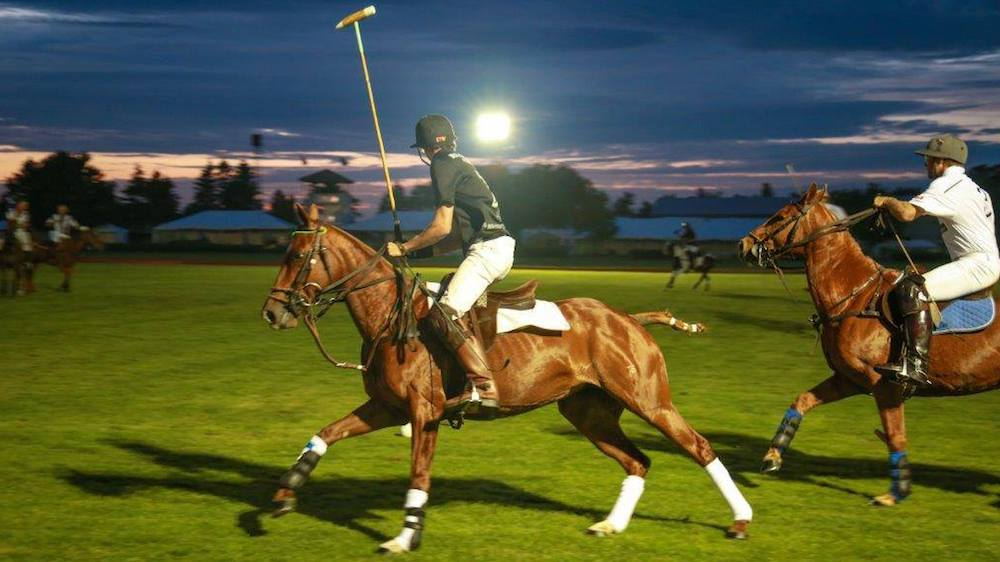 There's a 'Polo under the stars' event in Toronto next month