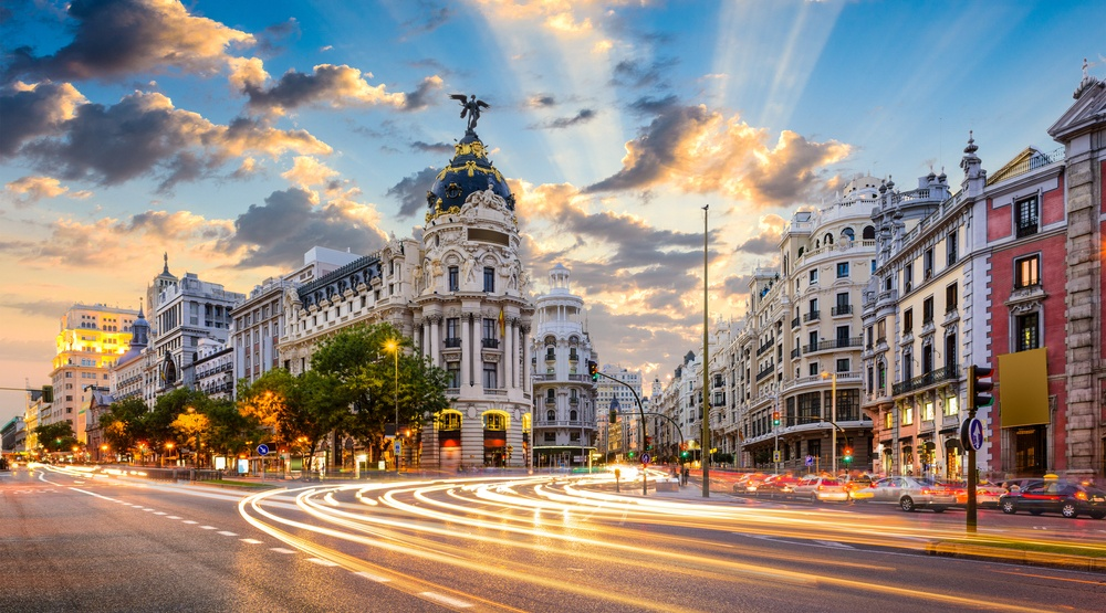 Flights from Calgary to Madrid, Spain for as low as $667 return