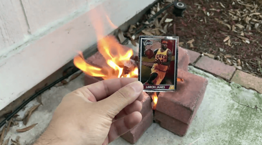 Reddit user holds sacrificial burn to change Raptors' playoff fortunes (VIDEO)