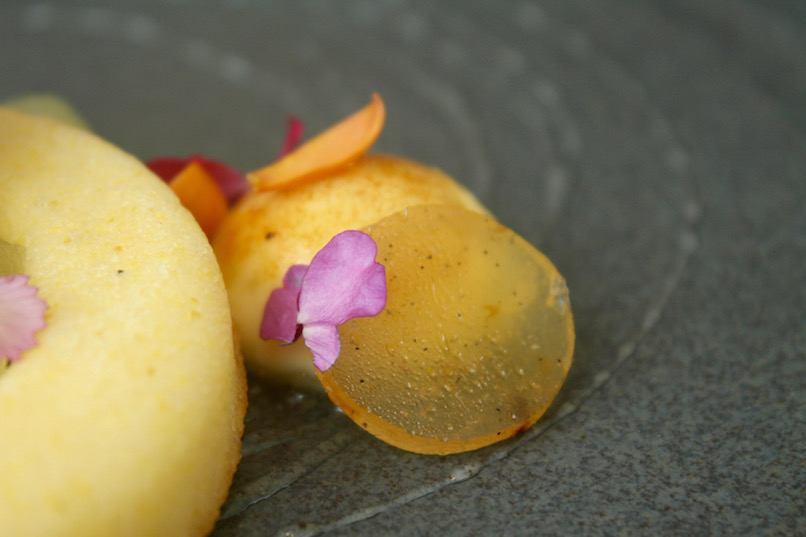 Botanist_lunch_meyer lemon polenta cake