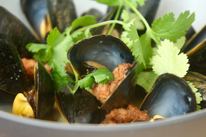 Botanist_lunch_steamed mussels