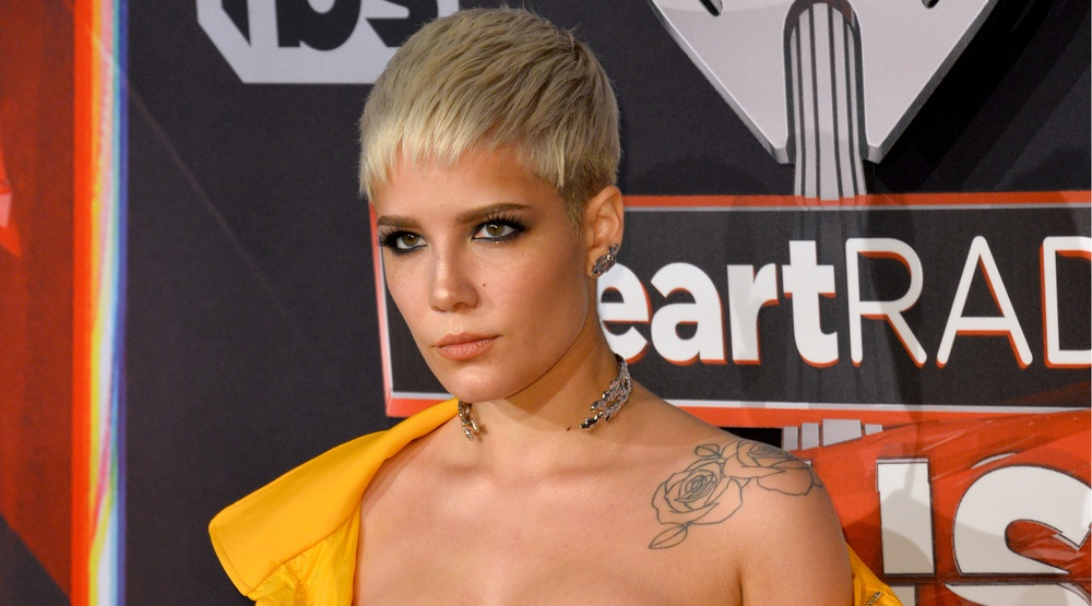 Halsey at Los Angeles. Jaguar PS/Shutterstock