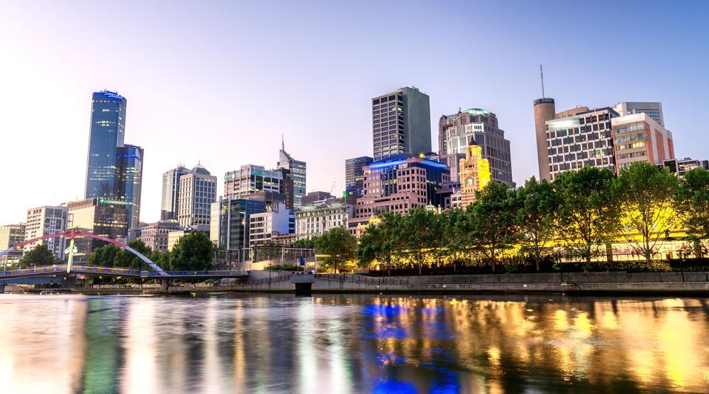 Melbourne australia yarra river