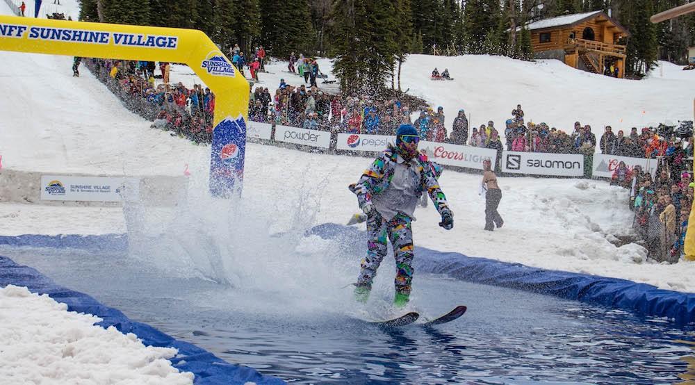 Slush Cup long weekend hits Banff Sunshine Village May 22