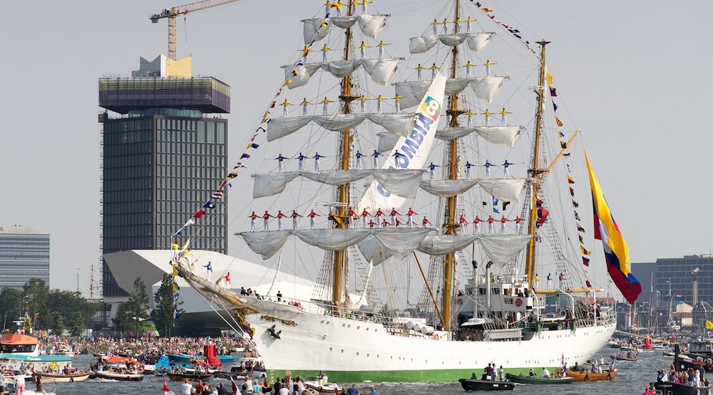 Colombian Navy tall ship coming to North Vancouver this weekend