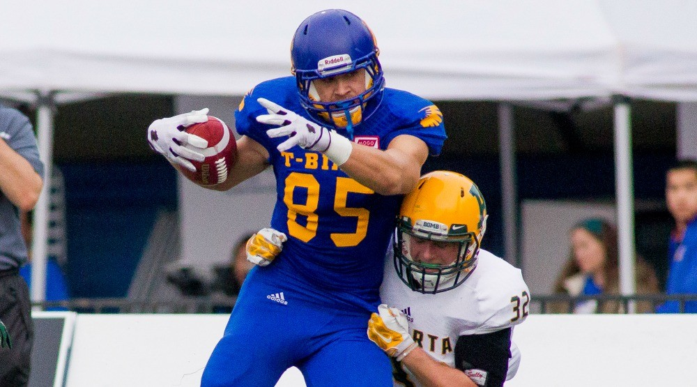 UBC football player invited to New York Giants mini camp