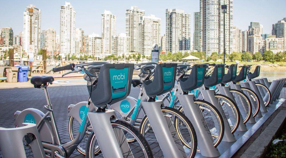 Mobi bike share vancouver