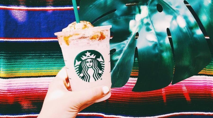 Starbucks churro frappucino