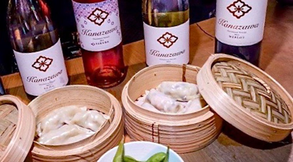 Happy Hours: $8 wine and dumplings from Hello Goodbye Bar