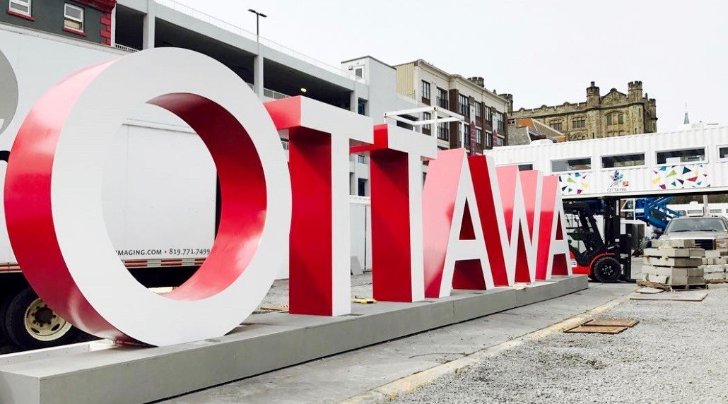 Ottawa just got its own 'Toronto sign' in time for Canada 150 (PHOTOS)