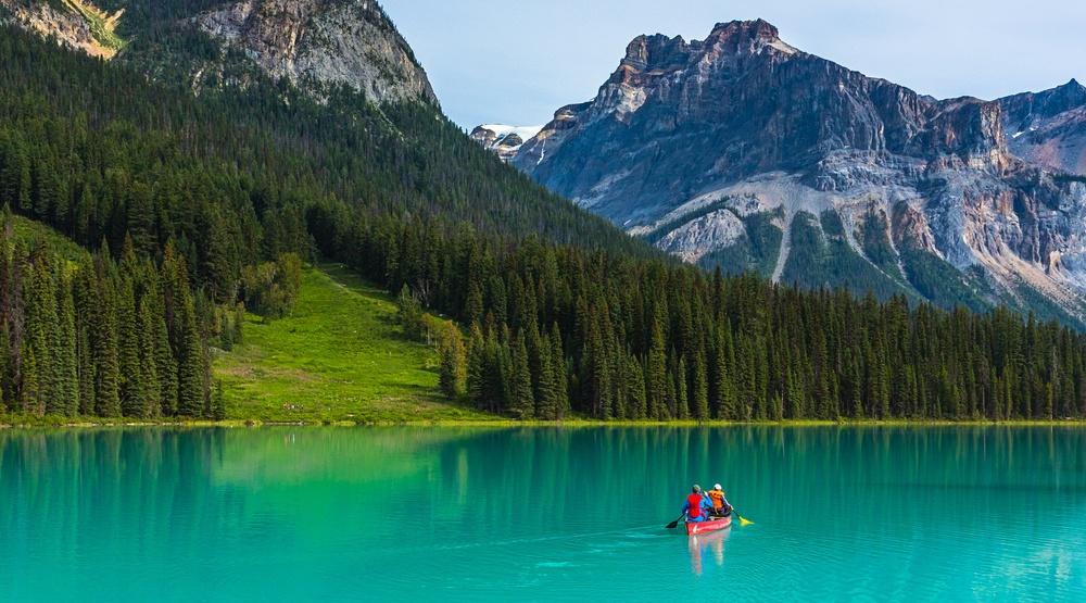 Emerald lake shutterstock