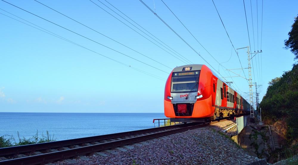 Sochi russia rail train