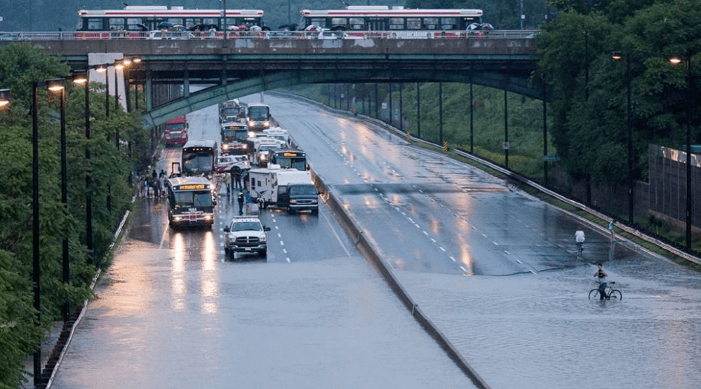 DVP may be closed as of 3 pm as City prepares for heavy rainfall and flooding