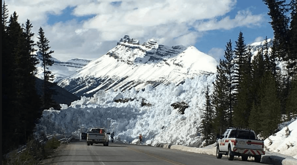 Avalanche forces closure of Icefields Parkway between Jasper and Lake Louise