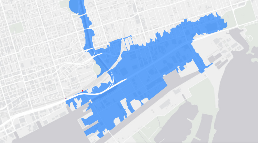 Toronto's most vulnerable areas for flooding (MAP)