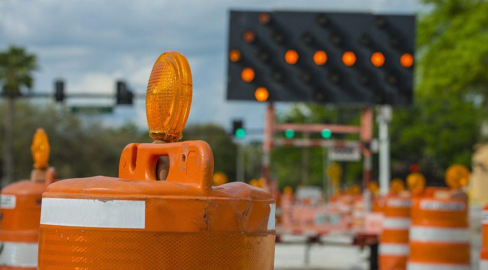 Road closure construction
