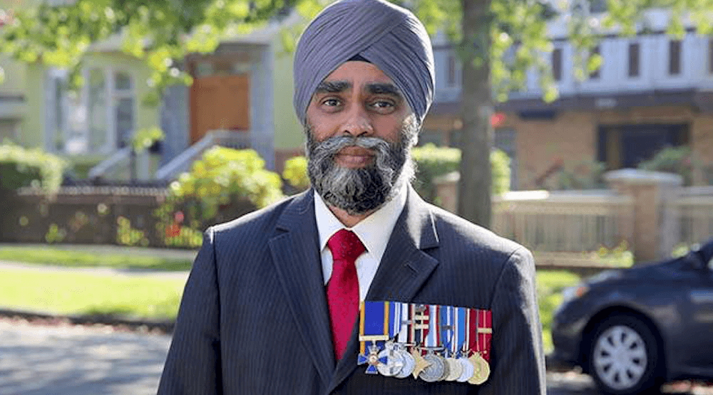 Minister of Defense Harjit Sajjan (Harjit Sajjan/ Facebook)