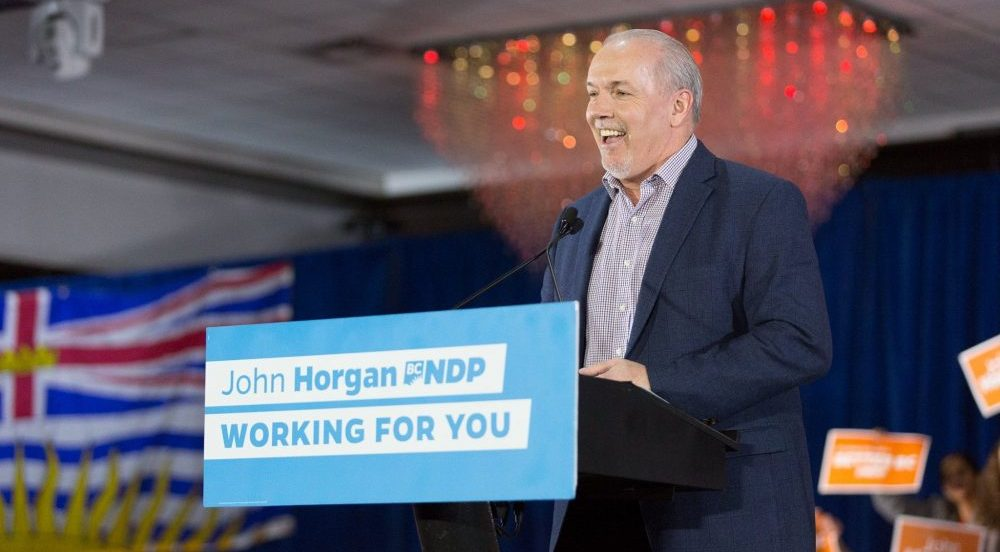 John Horgan's BC NDP suddenly speeds up timeline to bring rideshare