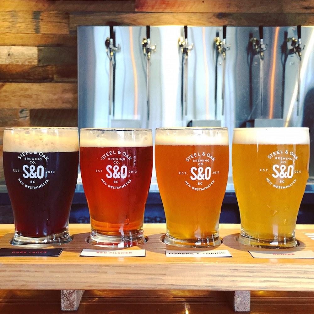 Beer Steel & Oak New Westminster