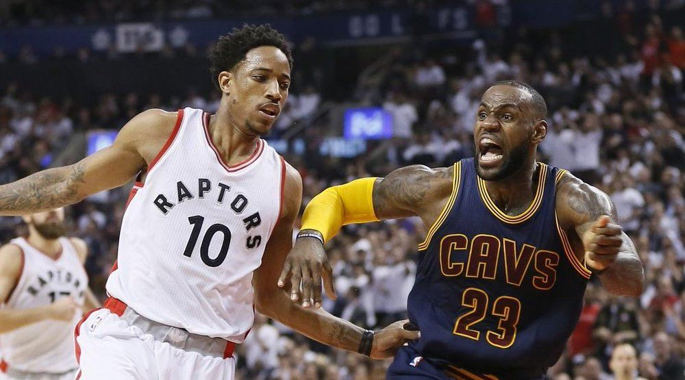 Raptors face LeBron and the Cavs in Round 2 (SCHEDULE)