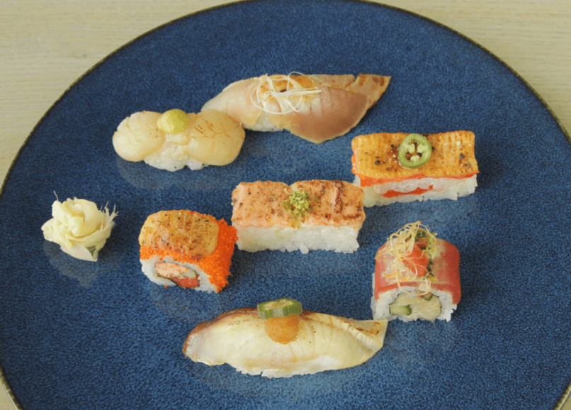 Miku Restaurant_sashimi platter