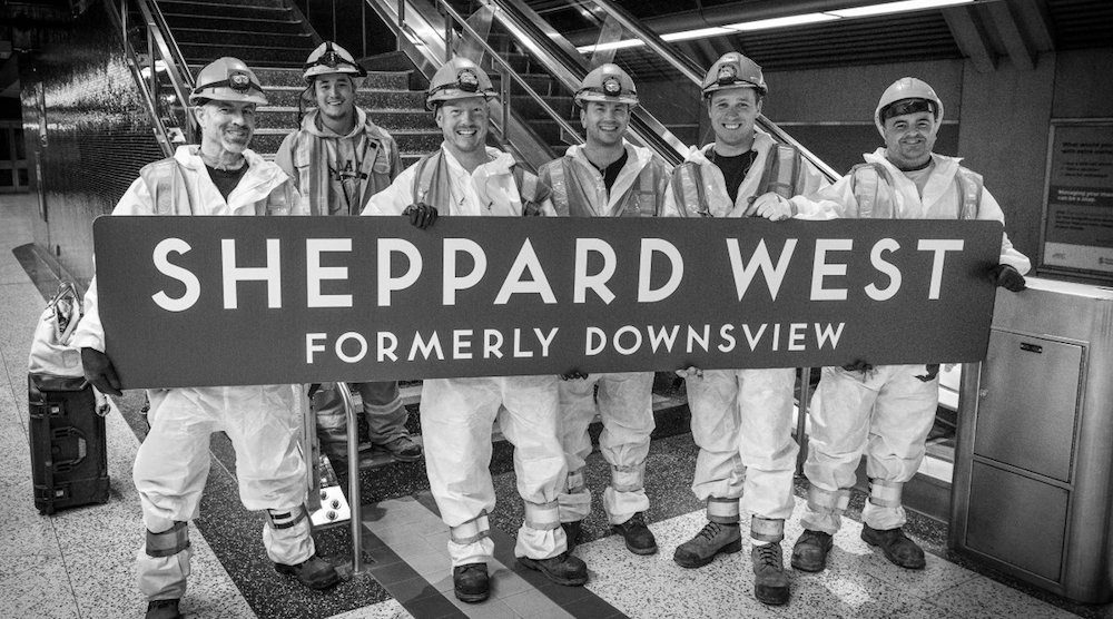 Downsview station is now officially Sheppard West station