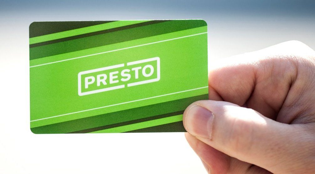 TTC monthly passes are now available for PRESTO cards