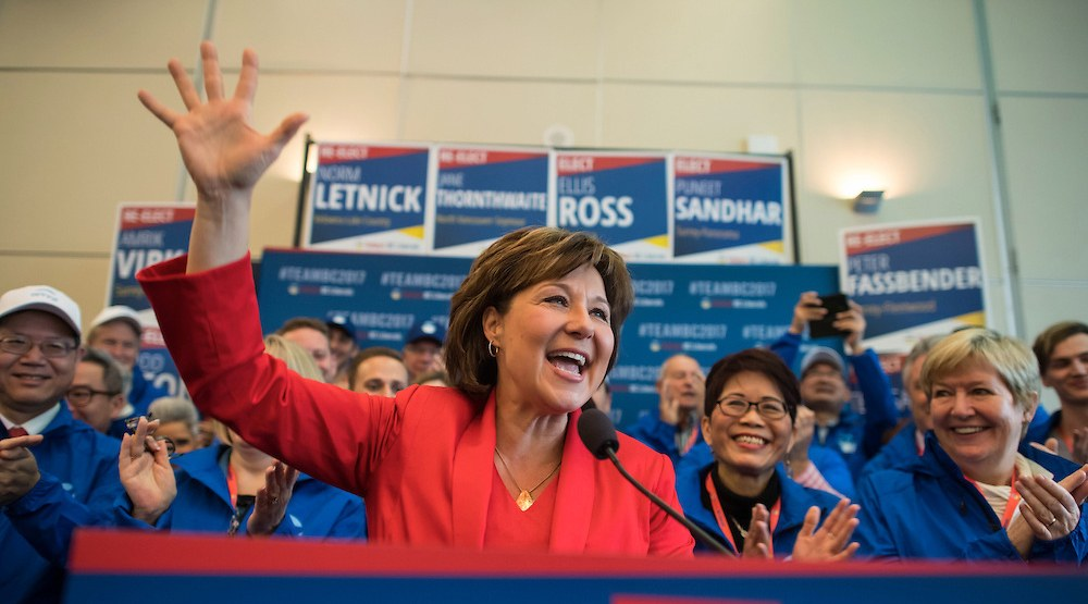 BC Liberals leader Christy Clark during a BC Liberals all candidates meeting. (John Lehmann/Today's BC Liberals/Flickr)