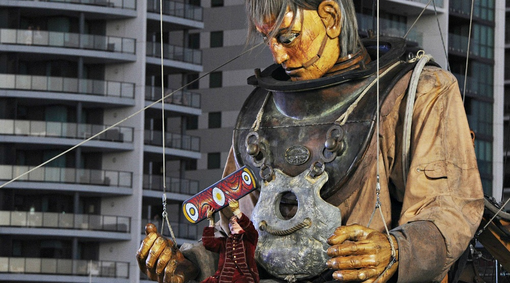 Giant marionette dolls are taking over Montreal this month