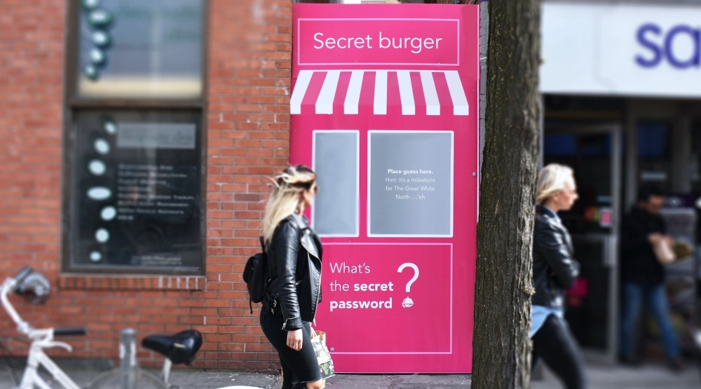 Bp secret burger