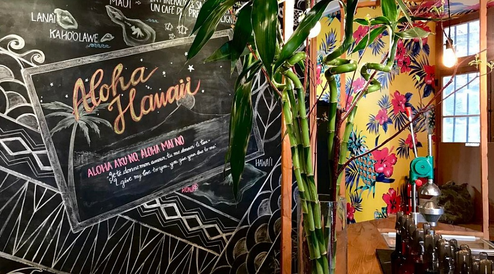 7 photos of Old Port's newest Hawaiian-themed coffee shop
