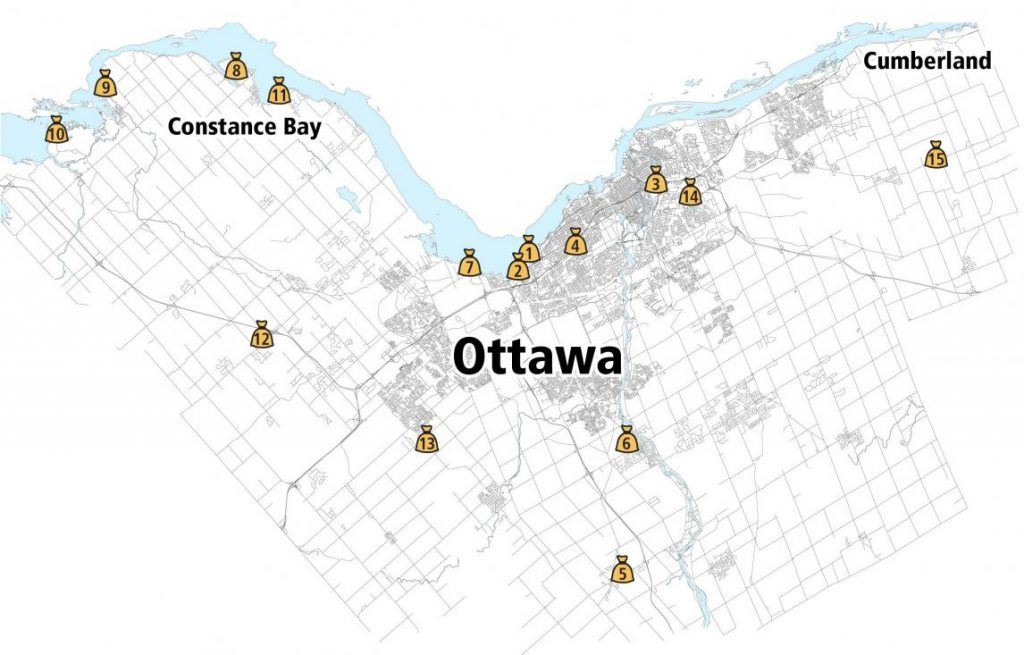 See the full impact of flooding in cities across Eastern Canada