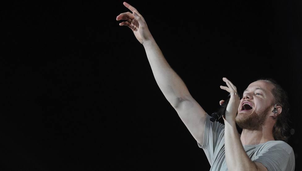 Imagine Dragons announce their third studio album, EVOLVE, along with a new North American tour.(Dan Reynolds/Shuttershock)